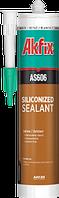 Герметик акриловый силикон. Акфикс AS606 310ml./24шт