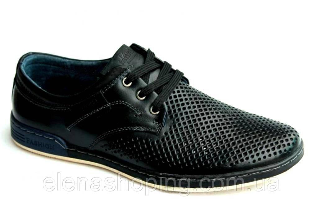 Туфли- мокасины мужские кожа р(41-44)