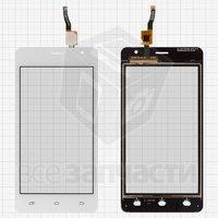 Тачскрин (сенсор) для мобильного телефона Nomi i4510 Beat M, original, белый