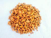 Цветной декоративный гравий крошка речной камень галька щебень Красный (190) Оранжевый