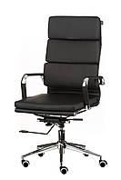 Кресло Solano 2 artleather black, черное, офисное, компьютерное