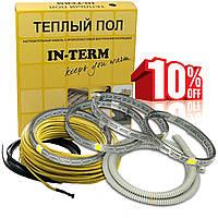 Греющий кабель In-term 17 м. (1,7 - 2,7 м²) 350 Вт