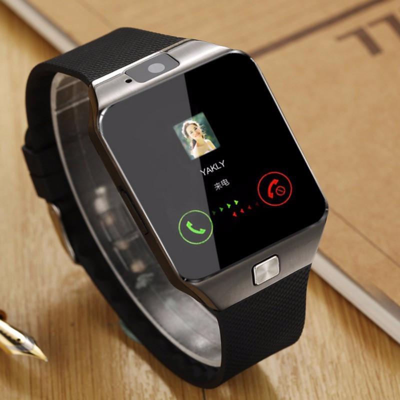 Смарт часы Smart Watch DZ-09 с функцией телефона SIM карта microSD