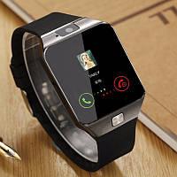 Смарт часы Smart Watch DZ-09 с функцией телефона SIM карта microSD, фото 1