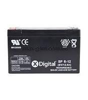 Аккумулятор для ИБП X-DIGITAL SP 6-12 (SW6120)