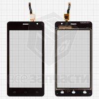 Тачскрин (сенсор) для мобильного телефона Nomi i4510 Beat M, original, черный