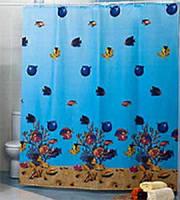 Шторка для ванной и душа 180х200 Красное море