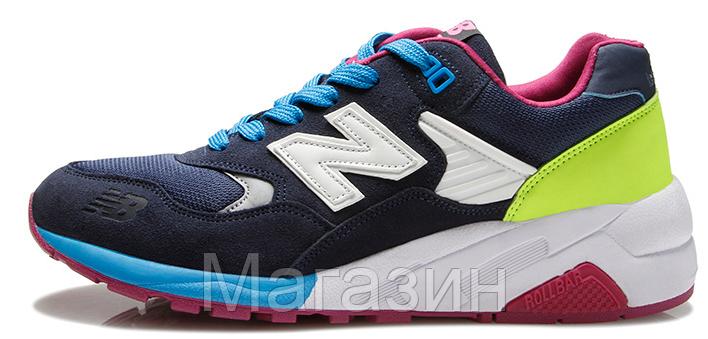 Мужские кроссовки New Balance 580 Нью Баланс 580 синие
