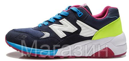 Мужские кроссовки New Balance 580 Нью Баланс 580 синие, фото 2