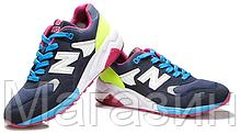 Мужские кроссовки New Balance 580 Нью Баланс 580 синие, фото 3