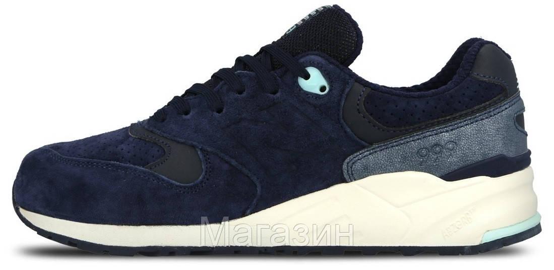 5201fb903caa Мужские кроссовки New Balance 999 Navy Нью Баланс синие - Магазин обуви New  York в Киеве
