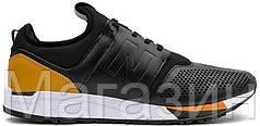 Мужские кроссовки New Balance 247 Black Нью Баланс черные