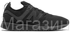 Мужские кроссовки New Balance 247 Sport Black Нью Баланс черные