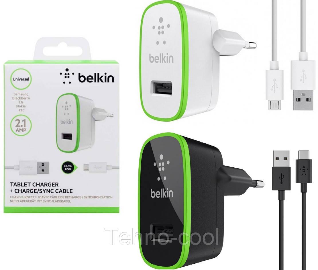"""Сетевое зарядное устройство Belkin 2 в 1 для Samsung Galaxy S4 I9500       xx 67511 - Интернет-магазин """"Тehno-cool"""". Большой выбор одежды, обуви, аксессуаров и товаров для детей. в Харькове"""