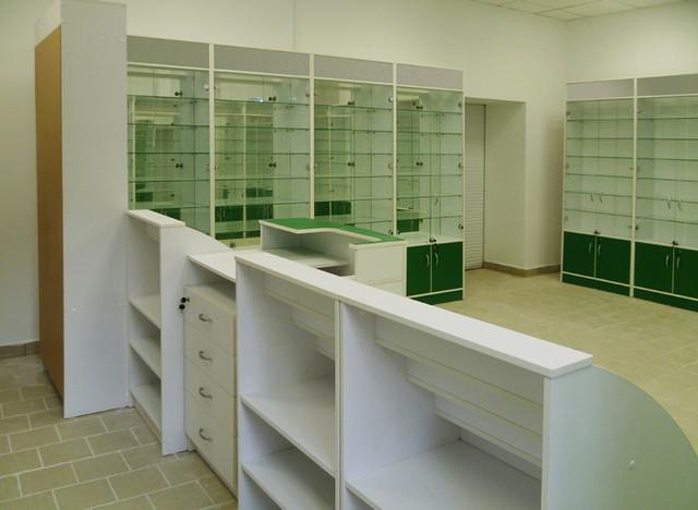Купить прилавки для аптеки в Одессе