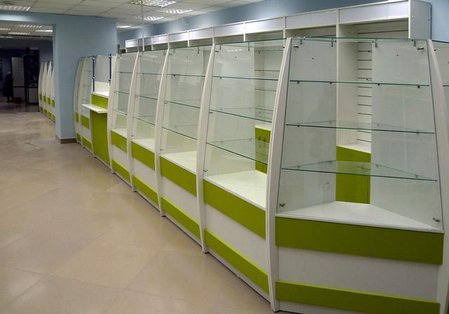Купить витрину для аптеки