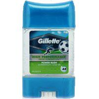 Gillette DEO gel 70ml Power Rush (гелевый дезодорант-антиперспирант)