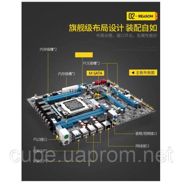 Комплект Xeon e5 2690, Huanan X79-M X79 Кулер Lga 2011 LGA2011