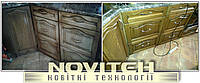 Реставрация кухоннь, кухоных фасадов, столы, стулья и других изделий.