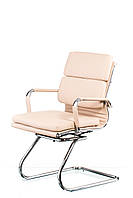 Кресло конференционное Solano 3 artleather, бежевое