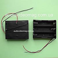 Отсек для 3 литий-ионных аккумуляторов (Li-Ion) 18650