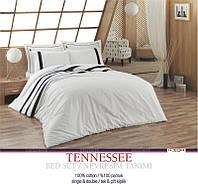 Постельное белье U.S. Polo Assn - Tennessee белое ранфорс евро
