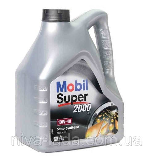 Масло моторне MOBIL Super 2000 10W-40