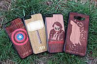 Деревянный чехол, накладка на iPhone 4/4s,5/5s,6/6s,7
