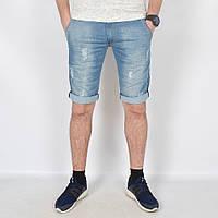 Чоловічі джинсові  рвані  шорти  Турція