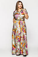 Платье макси вечернее  с 46 по 54 размер 2 цвета