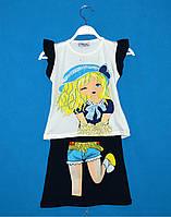 Детские костюмчики для девочек 5-8 лет, Летние костюмы для девочек