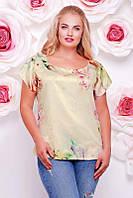 Женская футболка красивая FB-1353K размеры 50-56