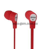 Наушники GORSUN GS-C270 red