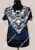 Красивая летняя женская футболка в расцветках 30221