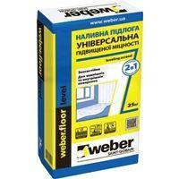 Наливна підлога Weber Floor Level 25 кг