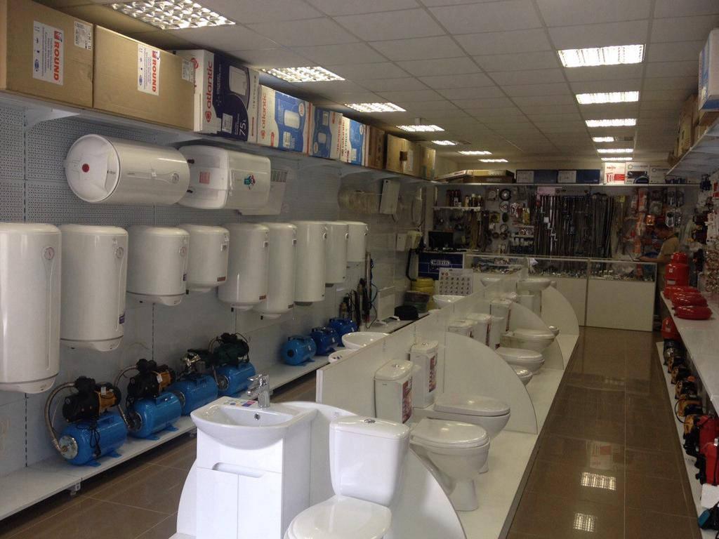 Магазины сантехники и стройматериалов
