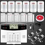 GSM сигнализация - подключение беспроводных датчиков