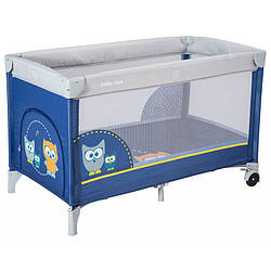 Манеж-кровать Baby Mix Sowa HR-8052 173 dark blue