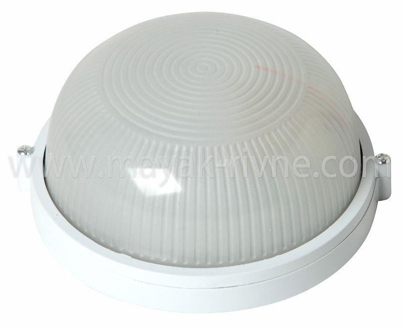 Светильник ЖКХ НПП 04 У-62 (метал/стекло) Белый