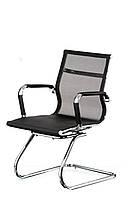 Кресло конференционное Solano mesh conference black, черное
