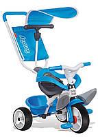 Велосипед трехколесный Baby Balade  - Smoby - Франция - складывающиеся подножки  Синий