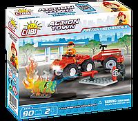 Конструктор COBI серия Action Town - Пожарный квадроцикл