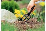 Набор садовых инструментов с пластиковыми ручками (3 предмета) , фото 4