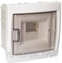 Купить бокс четырехместный для скрытой установки с дверцей, для установки автоматических выключателей и т.п. с номинальным током не более 40 А, при температуре окружающей среды от -5 ºС до +40 ºС. Для размещения 4-х и менее электроаппаратов.