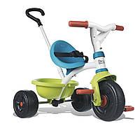 Велосипед трехколесный Be Move Pop  - Smoby - Франция - Ручка велосипеда регулируется по длине