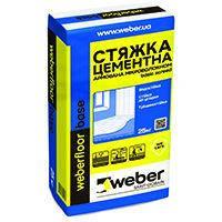Стяжка цементна Weber Floor Base 25 кг