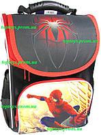 Рюкзак каркасный ортопедический школьный для мальчика Spider man, Человек паук