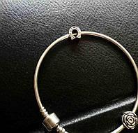 """Бусинка шарм на браслет """"пандора """" серебро 925"""