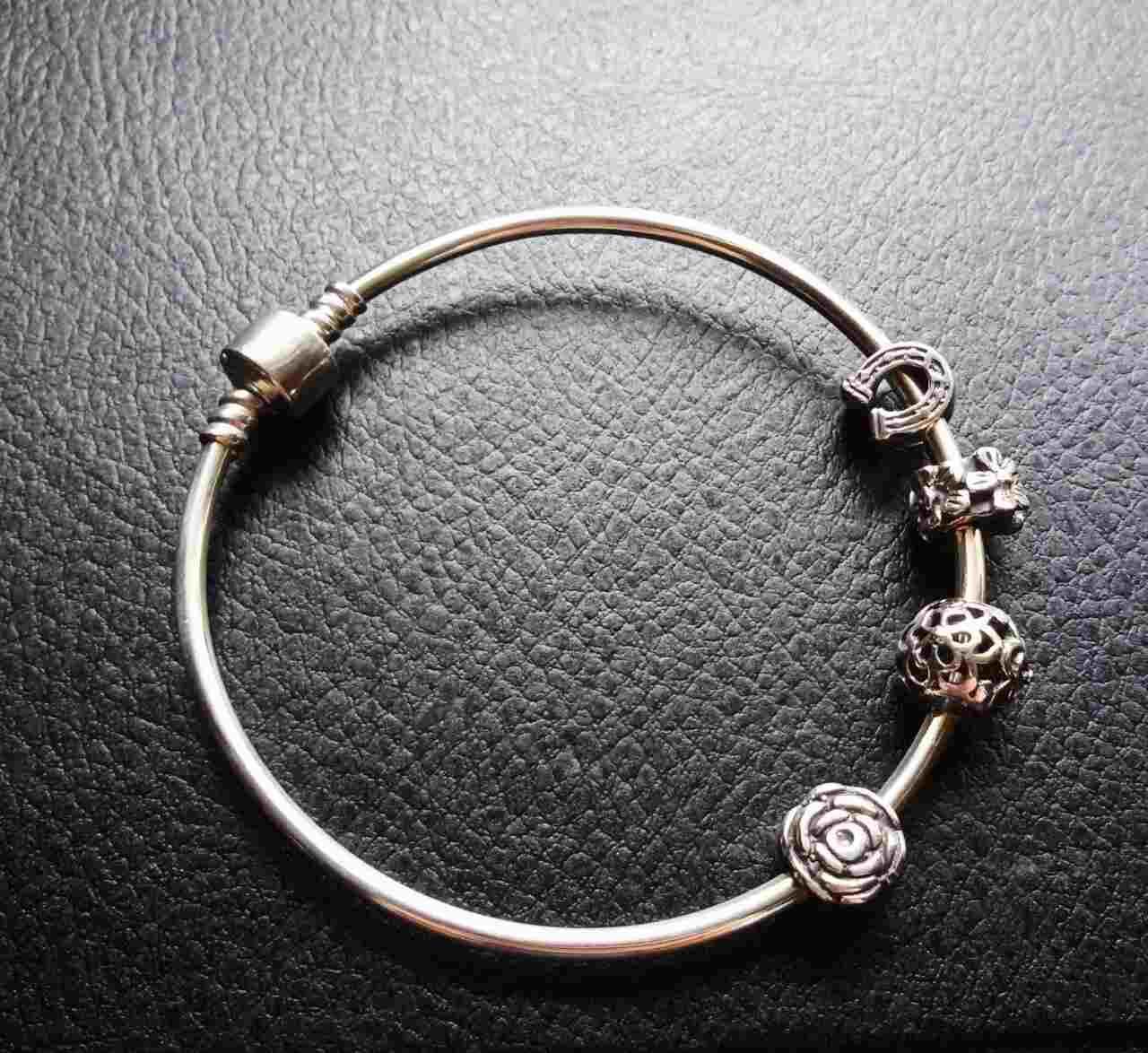 бусинка шарм на браслет пандора серебро 925 продажа цена в