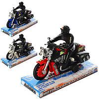 Игрушка мотоцикл инерционный9962-1A
